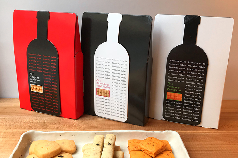 広島ワインに合うクッキーのハレノヒヨリのパッケージについて